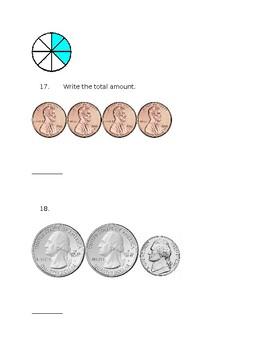Math Informal Assessment