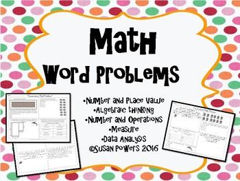 Math Inquiry Multi Step Word Problems