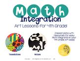 Math Integration Lessons for Visual Art- Fourth Grade