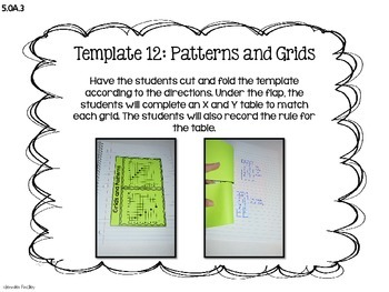 Math Interactive Notebook {Operations and Algebraic Thinking}
