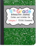 Interactive Notebook - 4th Grade Math - Texas Standards 1