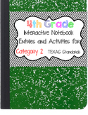 Math Interactive Notebook 4th Grade Texas Standards 2
