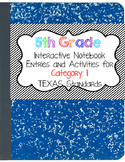Interactive Notebook - 5th Grade Math - Texas Standards