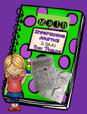 Math Interactive Journal for Story Problems- Common Core 2.OA.A.1