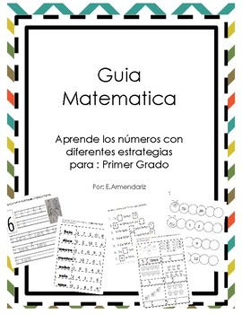 Math Interactive Journal in Spanish