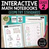 Math Interactive Notebook 2nd Grade Geometry