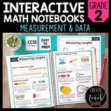 Math Interactive Notebook 2nd Grade Measurement and Data