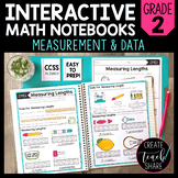Math Interactive Notebook 2nd Grade Measurement and Data