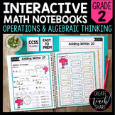 Math Interactive Notebook 2nd Grade Operations & Algebraic