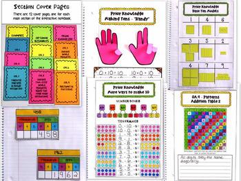 Math Interactive Notebook: 3rd Grade OA - (Operations/Algebra) - Common Core