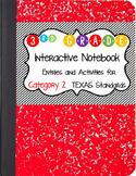 Math Interactive Notebook 3rd Grade Texas Standards 2 and