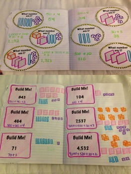 Math Interactive Notebook 4th Grade Edition~ ENTIRE YEAR BUNDLE
