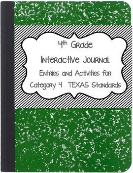 Math Interactive Notebook 4th Grade Texas Standards 4