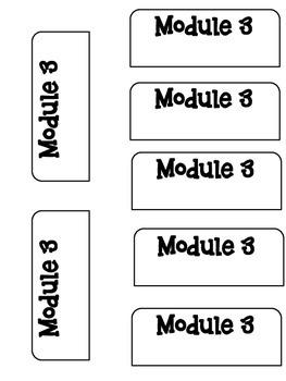 Math Interactive Notebook - Engage NY / Eureka Math Module 3