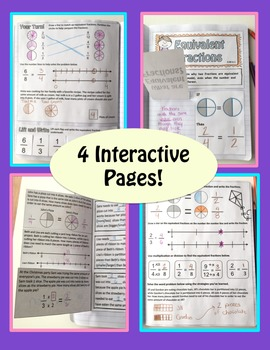 Math Interactive Notebook: Equivalent Fractions