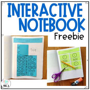 Math Interactive Notebook Freebie