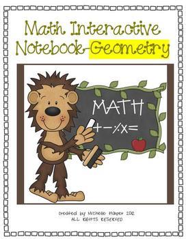 Math Interactive Notebook-Geometry