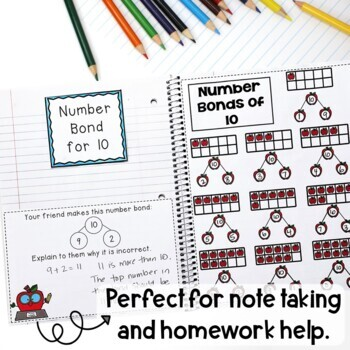 Math Interactive Notebook Grade 2 Module 1 Basic Addition & Subtraction