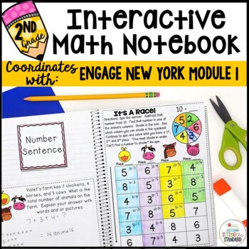 Math Interactive Notebook Grade 2 Module 1 Basic Addition & Subtraction
