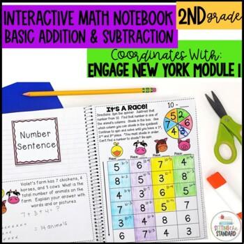 Math Interactive Notebook Grade 2 Module 1 Basic Addition