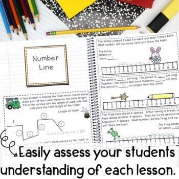 Math Interactive Notebook Grade 2 Module 2 Measurement