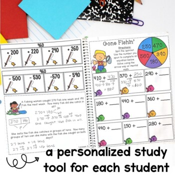 Math Interactive Notebook Grade 2 Module 5 Engage New York