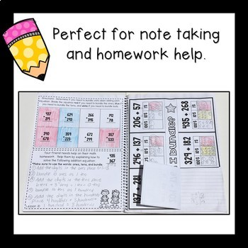 Math Interactive Notebook Grade 2 Module 5 Engage New York