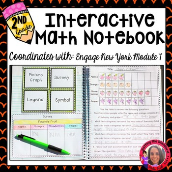 Math Interactive Notebook Grade 2 Module 7