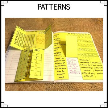 Math Interactive Notebook: Grade 5 Operations and Algebraic Thinking