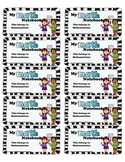 Math Interactive Notebook Labels