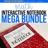 Math Interactive Notebook MEGA BUNDLE