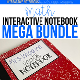 Math Interactive Notebook MEGA BUNDLE