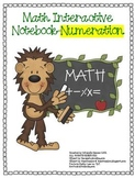 Math Interactive Notebook-Numeration