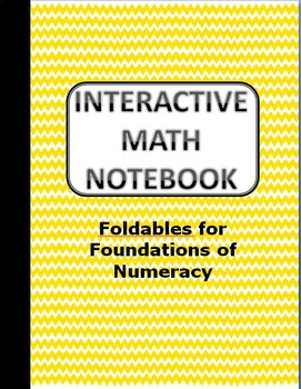 Math Interactive Notebook - Numeration TEKS ALIGNED