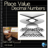Place Value 5th Grade Interactive Notebook