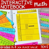 Math Interactive Notebook: Place Value Sample