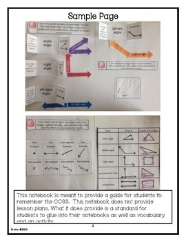 Math Interactive Notebook Printables Grades 3-5 FREE SAMPLE PAGES