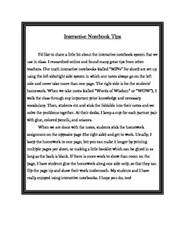 Math Interactive Notebook - Stick-n-Solve FOLDABLES Fractions & Decimals -6th Gr