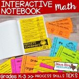 Math Interactive Notebook: TEKS Process Skills or TEKS Pro