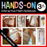 Math Interactive Notebook Third Grade Scaffolded Notes + G