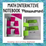 Math Interactive Notebook for Time, Money, and Measurement