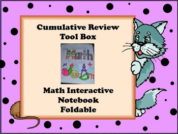Math Interactive Notebook Tool Box - Formulas, Algorithms, & More