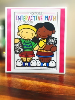 Math No Prep Interactive Notebook and MORE! 1st Grade Unit 1 - 5s and 10s