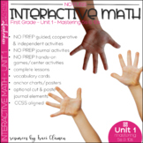 Math No Prep Interactive Notebook and MORE! 1st Grade Unit