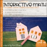 Math Interactive Notebook and MORE! 1st Grade Unit 14 - AD