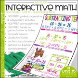 Math No Prep Interactive Notebook & MORE! 1st Grade U-15 -