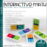 Math No Prep Interactive Notebook and MORE! 1st Grade Unit 2 Number Patterns