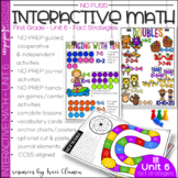 Math Interactive Notebook and MORE! 1st Grade Unit 6 Fact