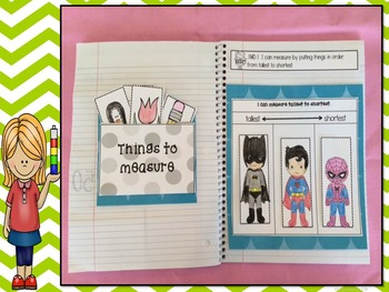 Math Interactive Notebook made for First Grade