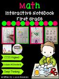 Math Interactive Notebook made for First Grade